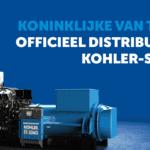 Koninklijke van Twist officieel distributeur Kohler-SDMO!